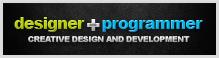 Designer + Programmer